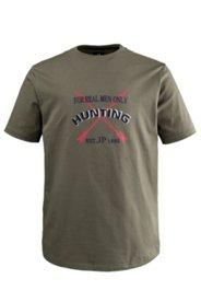 """T-Shirt mit """"Hunting""""-Schriftzug"""