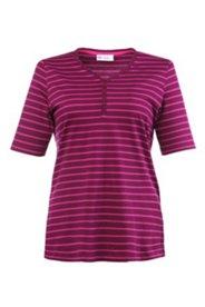 Shirt mit Knopfleiste, 100 % Baumwolle