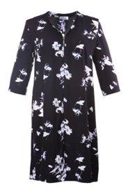 Kleid mit Blütenmuster, A-Linie