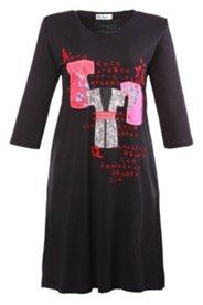 Bigshirt mit Kimono-Applikationen, 3/4-Arm