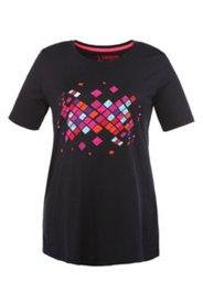 Shirt mit Muster, 100 % Baumwolle