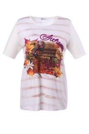 Shirt mit Wandermotiv, Kordelschriftzug