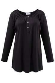 Carmen-Shirt mit Raglanärmeln, Stretch-Komfort