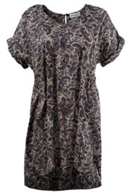 Wzorzysta sukienka