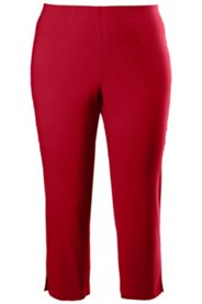 Stretch Basic Capri Pants