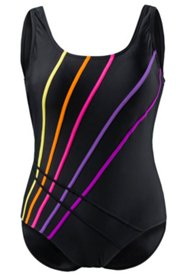 Rainbow Piped Swimsuit