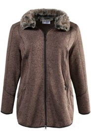 Fur Collar Fleece Jacket