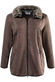 Fur Collar Fleece Jacket
