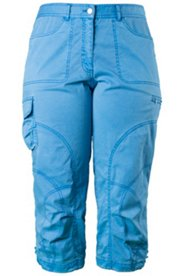Multi Seam Washed Crop Pant