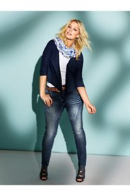 Curvy Seamed Jeans