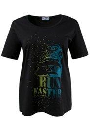 Run Faster Stamp Tee