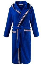 Stripe Accent Terry Bathrobe