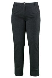 Stretch Straight Leg Knit Pants