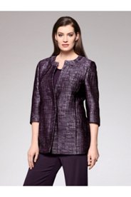 Blackberry Tweed Jacket