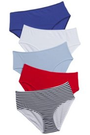 5 Pack of Panties -  Nautical Feel
