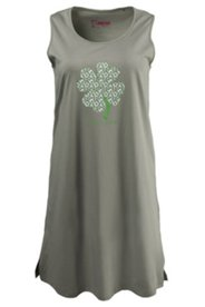Clover Stamp Sleep Tank