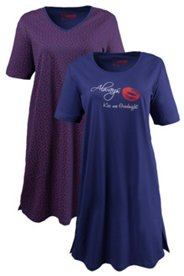 2 Pack Sleep Tees - Print and Stamp Kisses