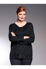 Leopard Design Sweater