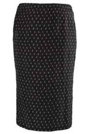 Sketch Dot Print Skirt