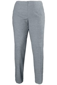 Melange Viscose Wool Blend Pants