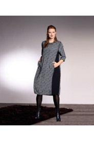 Tweed Print Dress