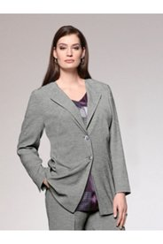 Melange Stretch Blazer