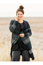 Eco Cotton Pattern Cardigan Sweater