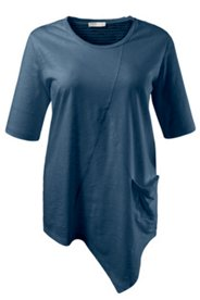 Asymmetric Hem Eco Cotton Tee