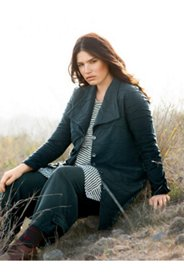 Eco Cotton Textured Knit Jacket