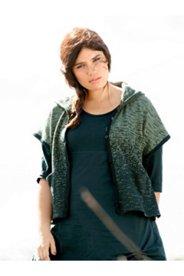 Eco Cotton Space Dye Look Sweater Vest