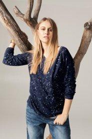 Night Sky Printed Sweater