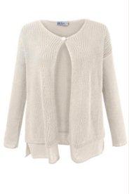 Diamond Pattern Cardigan Sweater