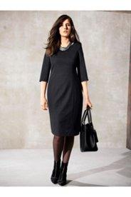 Stretch Knit Perfect Black Dress