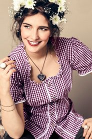 Traditional Gingham Blouse