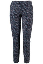 Cross Check Multi Color Print Jeggings