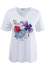 Traditional Jewel Stamp Print Top