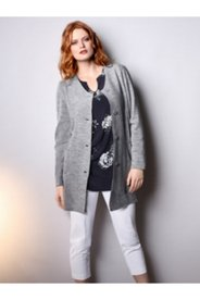 Mixed Fabric Boiled Wool Jacket