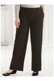 Stretch Knit Drawstring Pocket Pants
