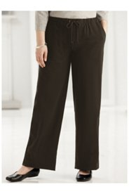 Stretch Knit Drawstring Pocket Pants