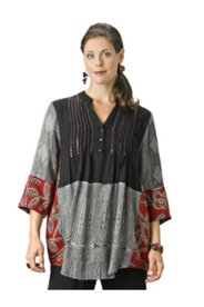Beaded Holiday Tunic