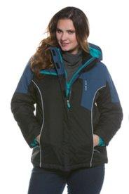 Colorblock Trim Ski Jacket