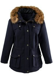 Wool Look Parka