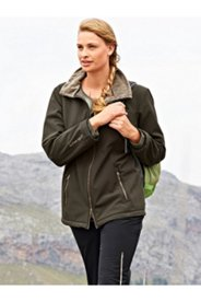 Softshell Faux Fur Lined Jacket