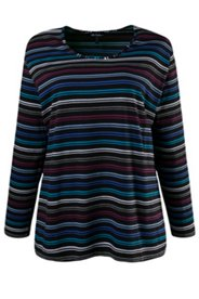 Many Colors Striped Tee
