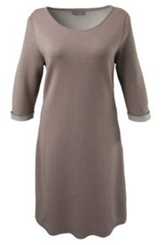 Classic Knit Heathered Dress