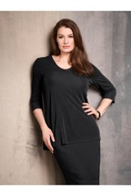 Delicate Bead Viscose Knit Top