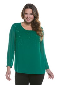 Raining Sequin Blouse