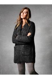 Wool Blend Sweater Cardigan