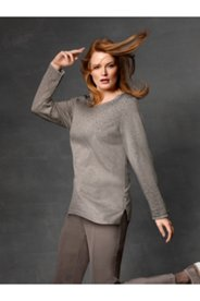 Grommet Accent Sweater