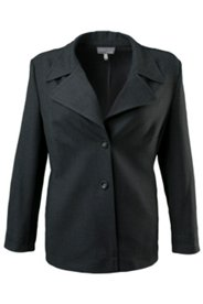 Two Button Notch Collar Blazer